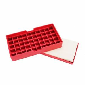 Hornady 20043 Case Lube Pad And Reloading Tray Comination Polymer Red