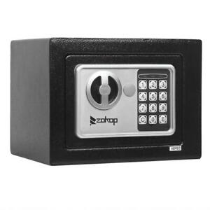 Electronic Digital Home 9quot; Security Office Money Jewelry Gun Keypad Safe Box $22.99