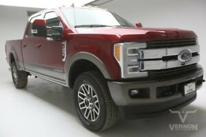 2019 Ford F-250  2019 Navigation 20s Aluminum Sunroof Leather Heated V8 Diesel Vernon Auto Group