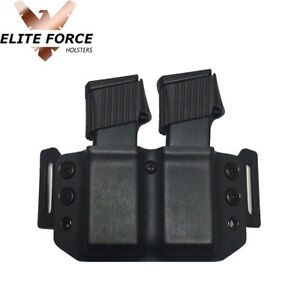 Kydex Mag Pouch Holster Carrier For Taurus Pro Mag PT-111 G2 G2C 9MM Magazines