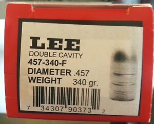 Lee 2-Cavity Bullet Mold 457-340-F .45-70 Government (457 Diameter) #90373