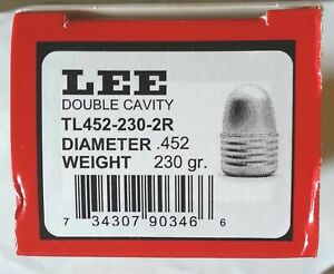 Lee 2-Cavity Bullet Mold TL452-230-2R--#90346-TUMBLE LUBE .45 CALIBER ROUND NOSE