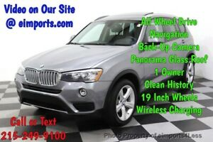 2017 X3 CERTIFIED X3 xDrive28i Premium AWD NAV CAM PANO Call Now to Buy Now NATIONWIDE SHIPPING AVAILABLE competitive financing