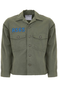 As65 flamingo embroidery jacket Y18093 Army Green - Authentic