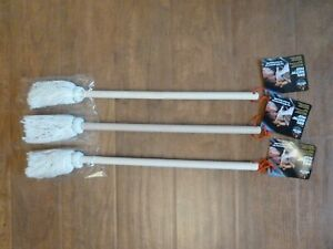 BBQ Basting Mops Brushes 3  Slather Barbeque Sauce on Grilling Meats 20