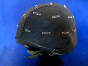 military helmet size L-1 SPP with black cover made wKevlar (1987) (g)