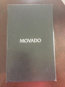 Movado womens bracelet watch with mirror face
