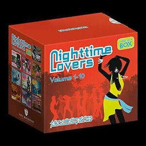 Nighttime Lovers Vols. 1 to 10 Various Artists Audio CD New FREE