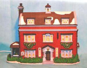 1997 DICKENS HERITAGE VILLAGE #6 GAD'S HILL PLACE LIGHTED MINT WITH BOX