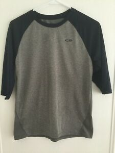 NEW Youth Boys Champion Duo Dry 34 Sleeve Running Fitness Shirt L Large 12-14