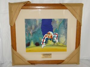 The Adventures Of Raggedy Ann And Andy Original Cel quot;Beastly Ghostquot; 1 of 1 amp; COA $60.00