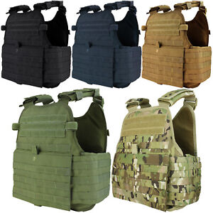 Condor MOPC Tactical MOLLE PALS Modular Operator Adjustable Plate Carrier Vest