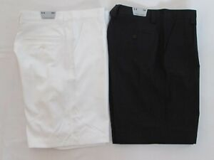 NEW MEN'S UNDER ARMOUR GOLF PERFORMANCE PLEATED FRONT SHORTS PICK SIZE AND COLOR