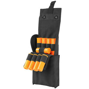 Molle Tactical 25 ROUNDS Shotgun Reload Pouch Ammo Carrier Mag 12 Gauge Case BLK
