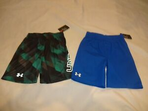 NEW Toddler Boys Under Armour Shorts size youth 6 Choose Color!