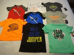NEW Toddler Boys Under Armour Short Sleeve Shirt 2T 3T 4T     Free Shipping!