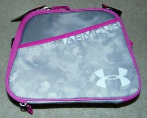 ~NWT Girls UNDER ARMOUR Camo Insulated Lunch BoxPail Nice FS:)~