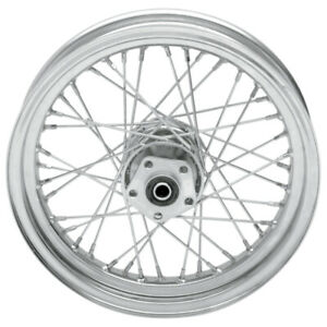 Drag Specialties Stock Replacement 40-Spoked Rear Wheel 16X3 (0204-0371)