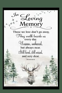Rememberance Deer  Garden Flag * Double Sided * Top Quality By Flags Galore