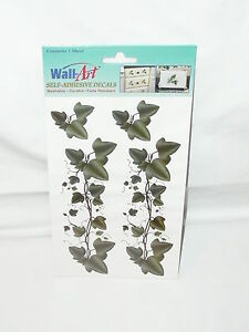 Wall Art Self Adhesive Decals Green Ivy Washable Fade Resistant New Arts Craft