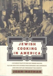 Jewish Cooking in America Joan Nathan Cookbook Cook Book Hardcover Dust Jacket