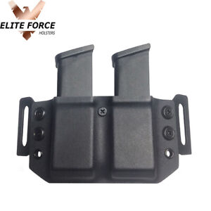 Magazine Carrier Holster For Glock 48 9MM Magazines - BLACK