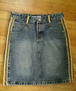 BEAUTIFUL BEST JEANS WANSHIHAO JEANS SKIRT SIZE 4 GREAT