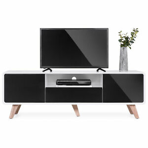 BCP 59in Mid-Century Modern TV Stand Media Console for Up to 65-Inch Screens