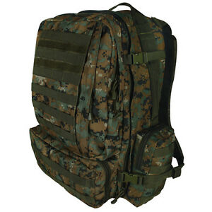 Tactical Military Advanced 3-Day Combat Modular MOLLE Backpack MARPAT Marine Dig