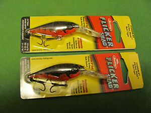 2 BERKLEY FLICKER SHAD 2.4