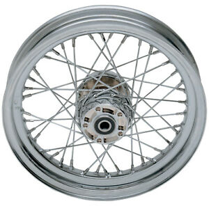 Drag Specialties Stock Replacement 40-Spoked Rear Wheel 16X3 (0204-0372)