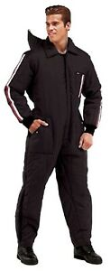 Ski and Rescue Waterproof One Piece Suit Insulated SnowMobile Motorcycle Hunting