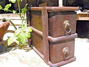 Antique Treadle Sewing Machine Drawers 2085 $64.99