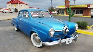 REDUCED!!  1950 Studebaker Champion bullet nose.  This is a nice running car.