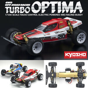 Kyosho 30619 110 Turbo Optima Gold 4WD Off-Road Racing Buggy Kit