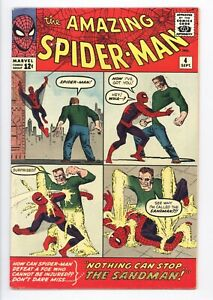 Amazing Spider-Man #4 Vol 1 Beautiful Higher Grade 1st Appearance of the Sandman