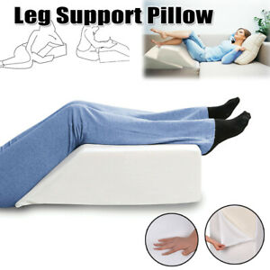 Elevating Leg Support Wedge Pillow Back Rest Bed Cushion For Comfy Sleeping Help