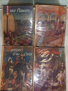THE BIBLE PAGEANT  4 Volumes Scriptures in Story Book Form Christian Merlin Neff