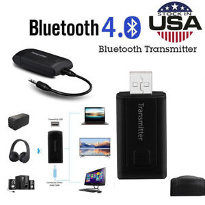 Wireless Bluetooth Transmitter Stereo Audio Music Adapter Adapter For TV Phone