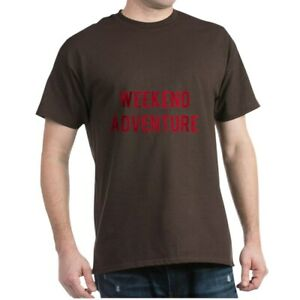 CafePress Weekend Adventure T Shirt 100% Cotton T Shirt 2024936409