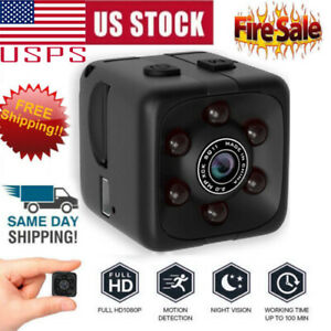 NEW Mini HD Hidden Camera Cam DVR Security Video Recording Motion Detection US