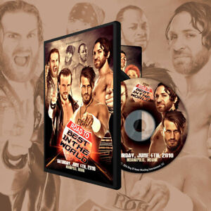 Ring of Honor - Road to the Best in the World DVD Indianapolis - ROH Bullet Club