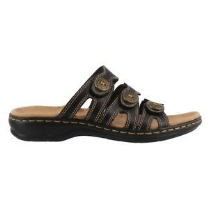 Clarks Leisa Grace Slide Sandals Clothing, Shoes & Jewelry Shoes