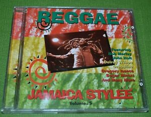 REGGAE Jamaica Stylee Volume 5 Roots Reggae Various Artists Compilation CD