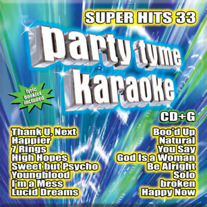 Party Time Karaoke - Super Hits 33 [New CD]