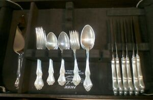 Westmoreland Sterling Silver Flatware-George & Martha Washington-Setting for 6