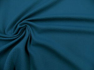 Bullet Textured Liverpool Fabric 4 way Stretch Teal S38