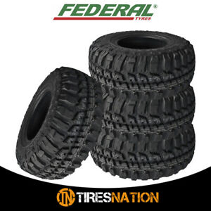 (4) New FEDERAL COURAGIA M/T 33X12.50R20 All Terrain Mud Tires