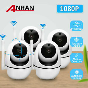 ANRAN IP WiFi 1080P HD Security Camera System Talk Smart PT Audio CCTV Home IR