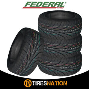 (4) New Federal 595RS-R 255/40ZR17 94W Tires